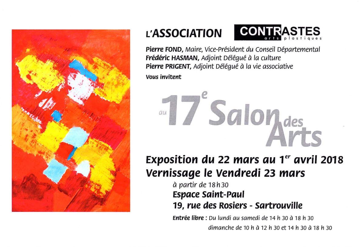 salon des arts, exposition, Sartrouville, Yvelines, peinture, sculpture, photographie, photo, Sarcie, dessin