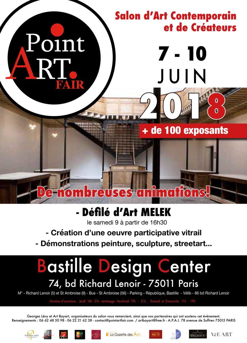 expo, paris, bastille, bastilleDesignCenter, art, pointArtFair, peinture, sculpture, photo, dessin, créations, artisanat, Sarcie, bijoux, photographie